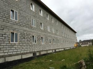 Рис. 1. Наружные стены до проведения работ по утеплению